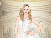 Helen White Swan Dress Up