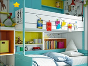 Kids Room Hidden Stars